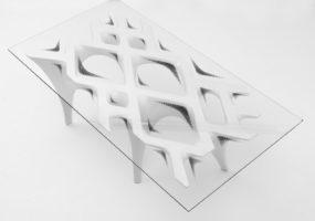 FLUX table - Freiform Möbelstück / Tisch
